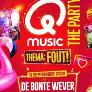 Qmusic The Party FOUT